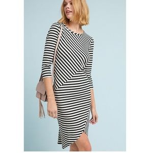 Anthropologie Striped Midi Dress